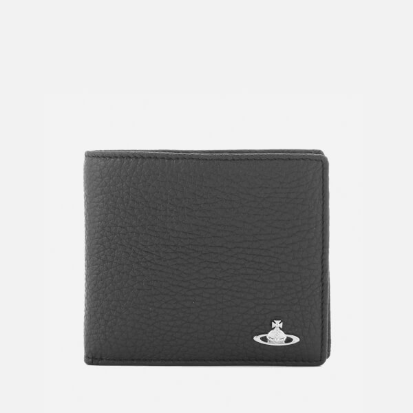 Vivienne Westwood Men's Milano Wallet with Coin Purse - Black
