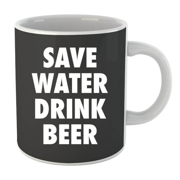 Beershield Save Water Drink Beer Mug