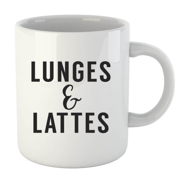 Lunges and Lattes Mug