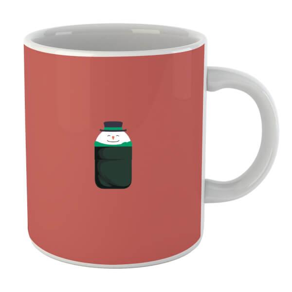 Christmas Snowman Pocket Mug