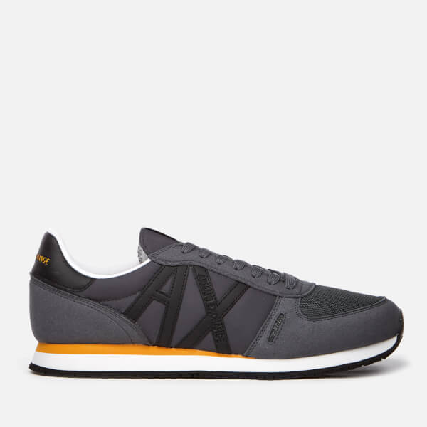 Armani Exchange Men's Runner Trainers - Grey Turbolence