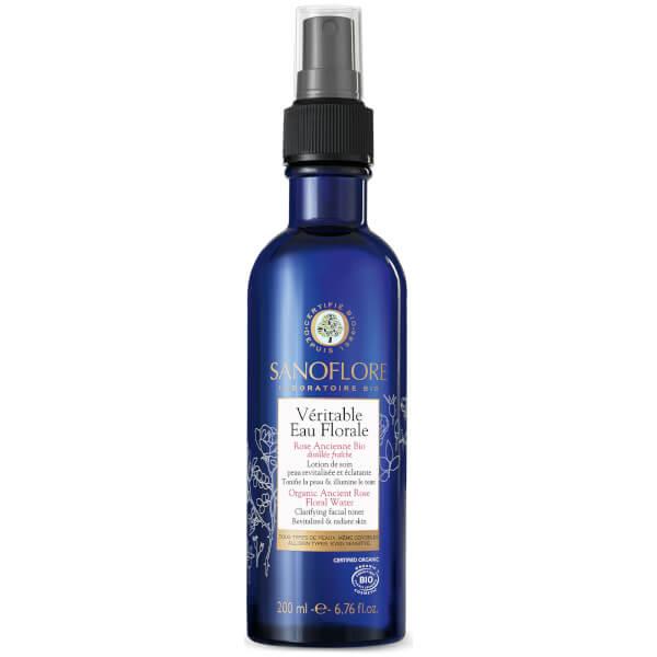 Sanoflore Organic Ancient Rose Floral Water Clarifying Facial Toner 200ml