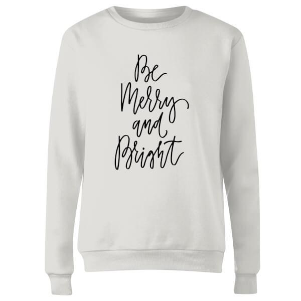 Be Merry and Bright Women's Sweatshirt - White