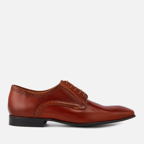 Paul Smith Men's Roth Leather Almond Toe Derby Shoes - - UK 10 hagLB