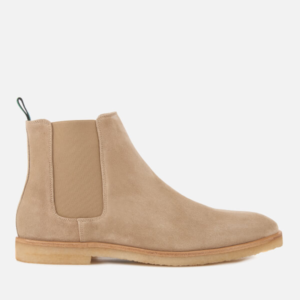 77bb535b5bb Shoptagr | Ps Paul Smith Men's Andy Suede Chelsea Boots Taupe by Ps ...