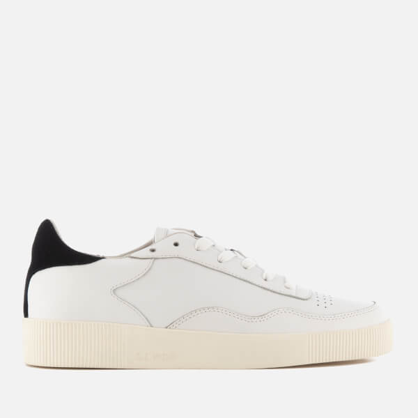 SENSO Women's Arden Leather Low Top Trainers - Ebony - UK 3 Dhghj