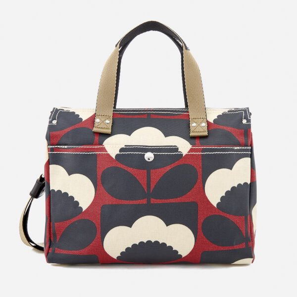 27bbe5929ab Orla Kiely Women s Small Zip Messenger Bag - Poppy  Image 1