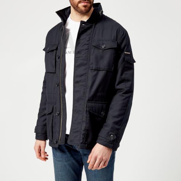 Armani Exchange Men S Field Jacket Navy Clothing