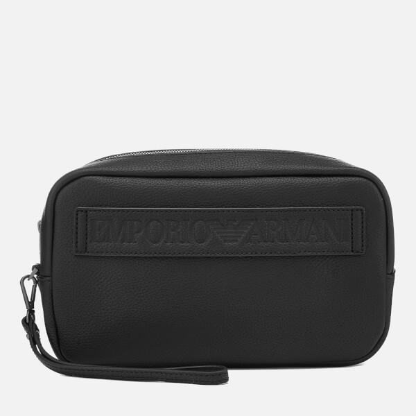 Emporio Armani Men s Wash Bag - Black  Image 1 18e08fedd379d