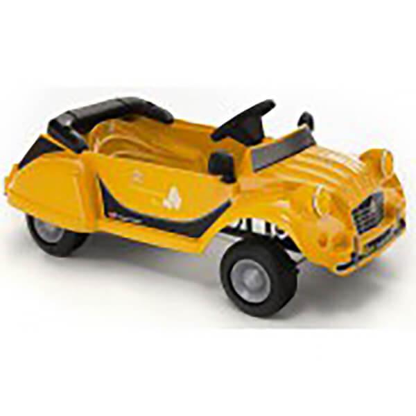 Citroen Charleston 2CV Pedal Power Car - Yellow