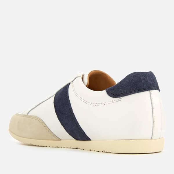 Polo Ralph LaurenPRICE - Trainers - white/indigo/ivory KjZbfJ