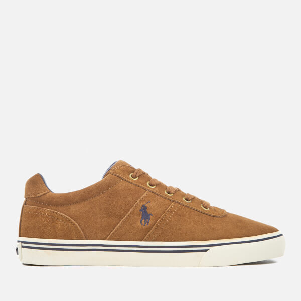 Polo Ralph Lauren Men's Hanford Suede Trainers - New Snuff