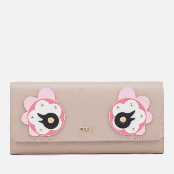 Furla Women's Charme Extra Large Billfold Wallet - Beige
