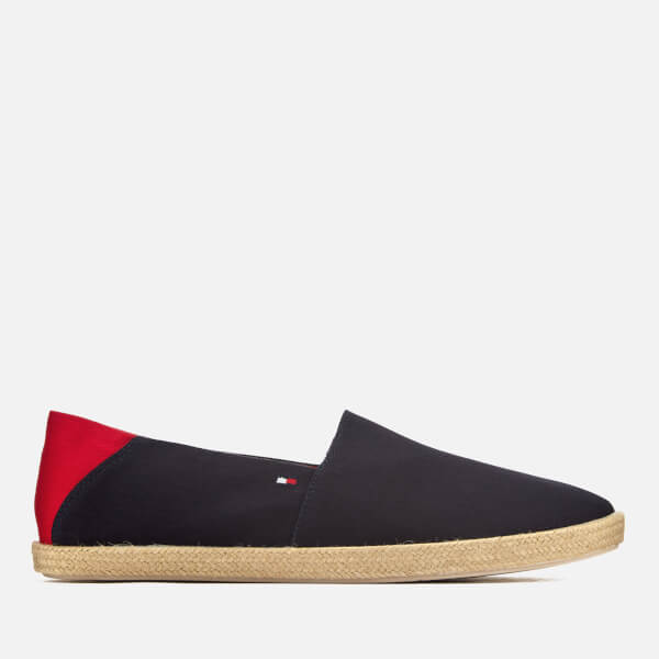 Easy Summer Canvas Slip On Espadrilles in Navy - Midnight Tommy Hilfiger gCOzPALB