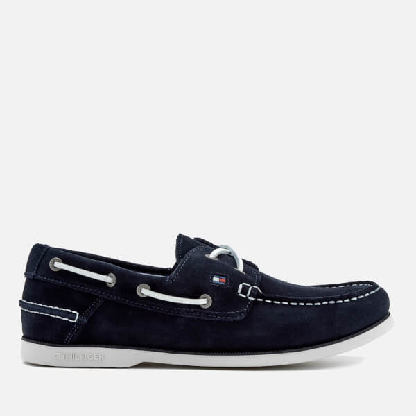 e36154591711 Tommy Hilfiger Men s Classic Suede Boat Shoes - Midnight
