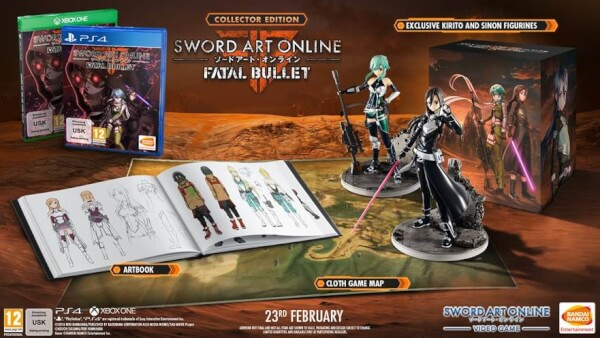 Sword Art Online: Fatal Bullet Collectors Edition Xbox One | Zavvi