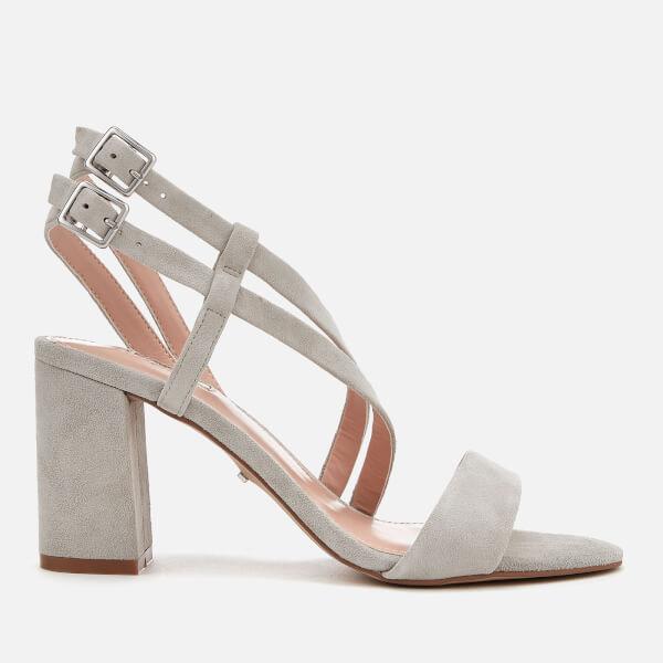 Pre Order Cheap Price Carvela Group - grey block heel sandals Visa Payment Popular Cheap Price Comfortable From China R4AO01mVAi
