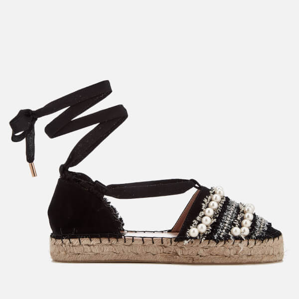 Miss KG Women's Diana Espadrille Sandals - Black