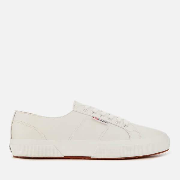 7ee8107deb8 Superga Men s 2750 Nappaleau Leather Trainers - White