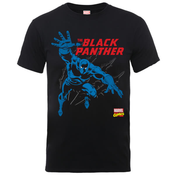 Marvel Comics The Black Panther Black T-Shirt