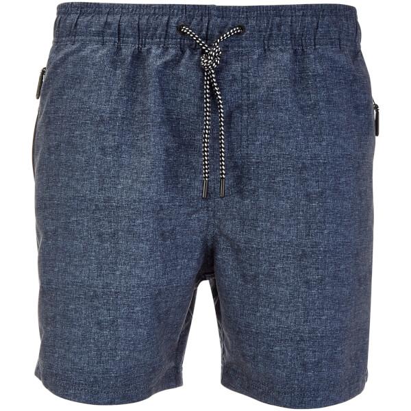 Dissident Men's Rosario Swim Shorts - Blue Marl
