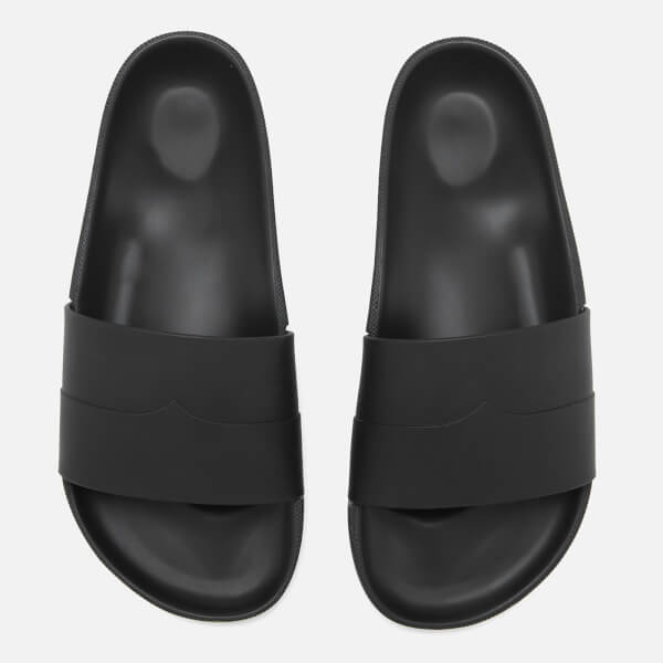98f02c1a58be Hunter Men s Original Moustache Slide Sandals - Black Dark Slate ...