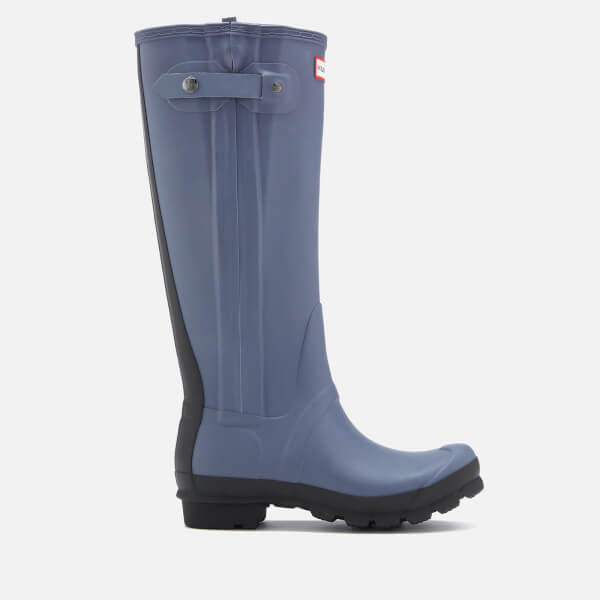 Hunter Women's Original Slim Two Tone Wellies - Mineral Blue