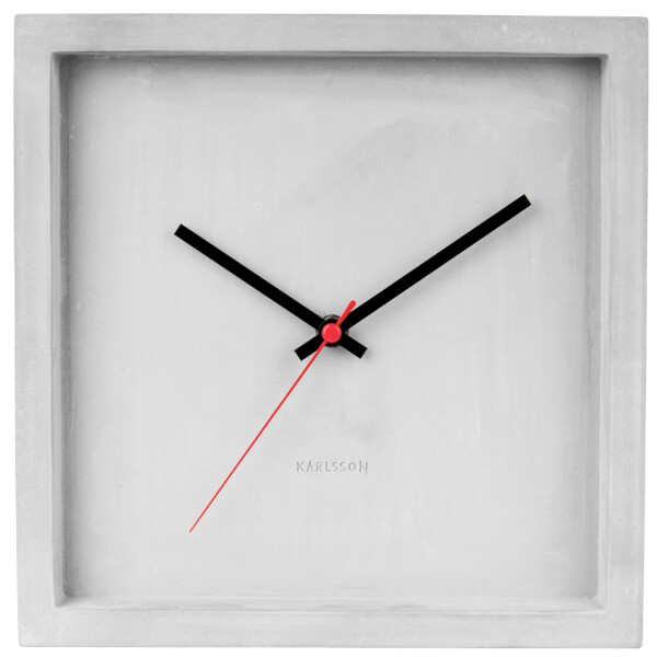 Karlsson Franky Wall Clock - Concrete
