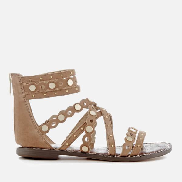 6ba22d7b6 Sam Edelman Women s Geren Suede Gladiator Sandals - Golden Caramel ...