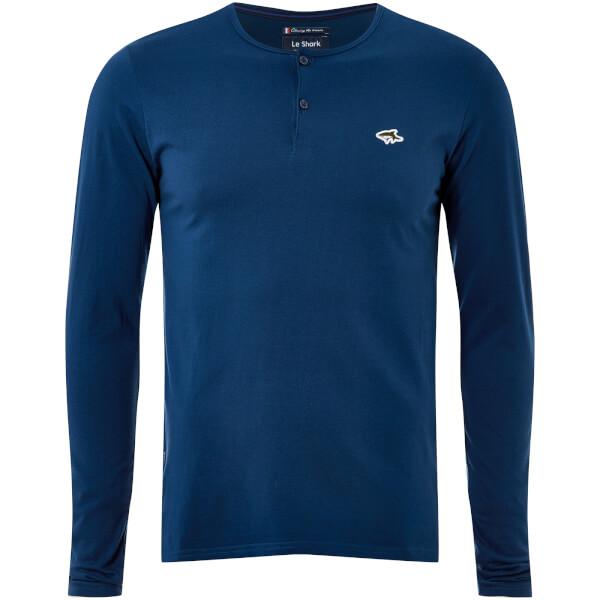 Le Shark Men's Kirkwood Long Sleeve T-Shirt - Teal Blue