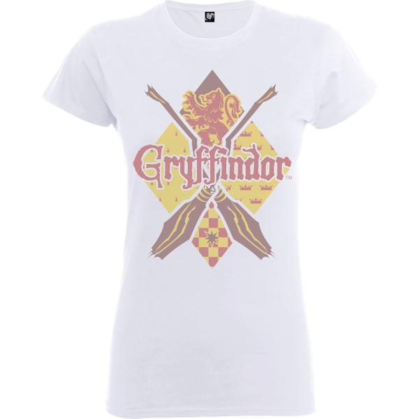 Harry Potter Gryffindor Women's White T-Shirt