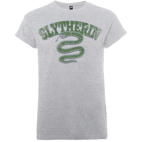 Harry Potter Slytherin Men's Grey T-Shirt