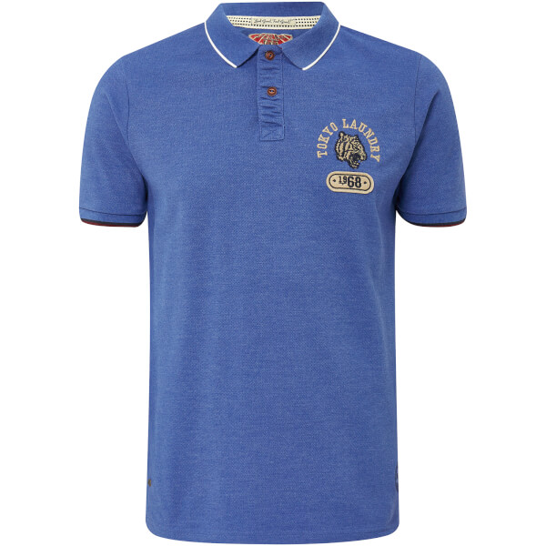 Tokyo Laundry Men's Tiger Bay Polo Shirt - Cornflower Blue
