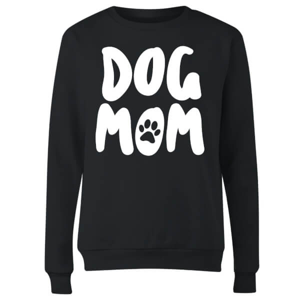 Dog Mom Women's Sweatshirt - Black