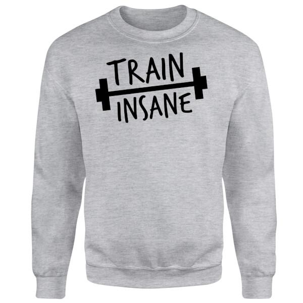 Train Insane Sweatshirt - Grey