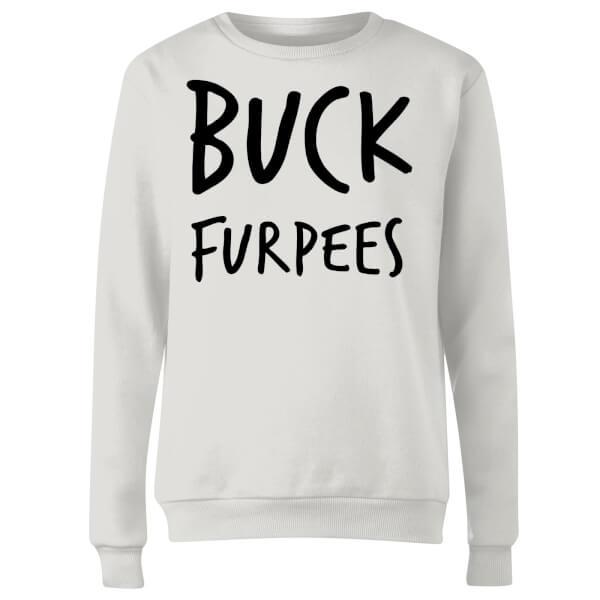 Buck Furpees Women's Sweatshirt - White