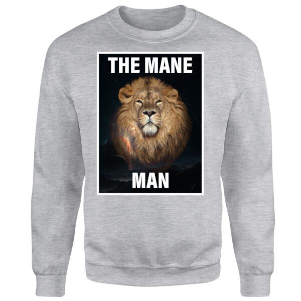 The Mane Man Sweatshirt - Grey