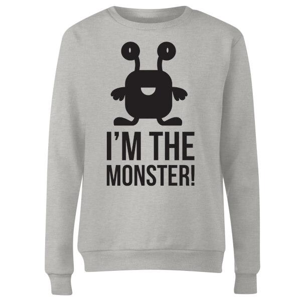 I'm the Monster Women's Sweatshirt - Grey