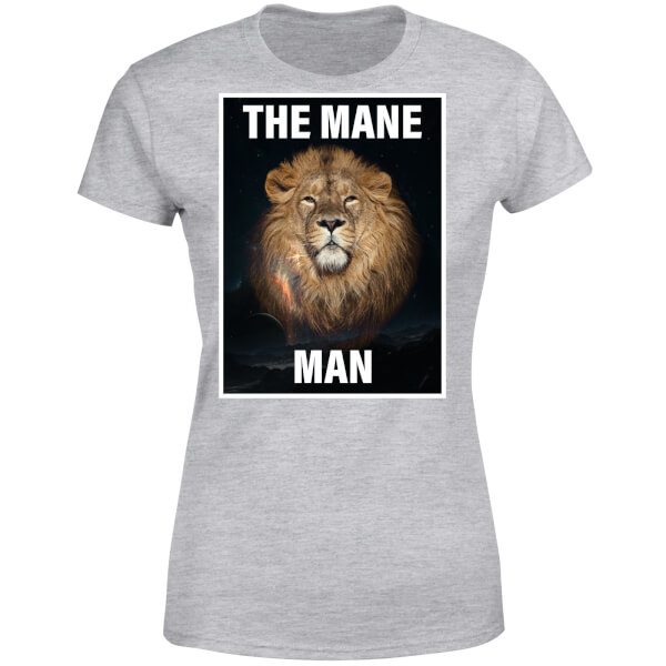 The Mane Man Women's T-Shirt - Grey