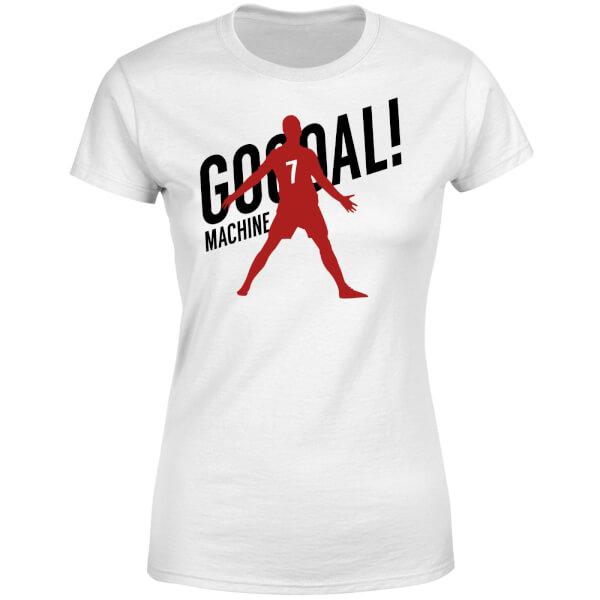 Goal Machine Women's T-Shirt - White