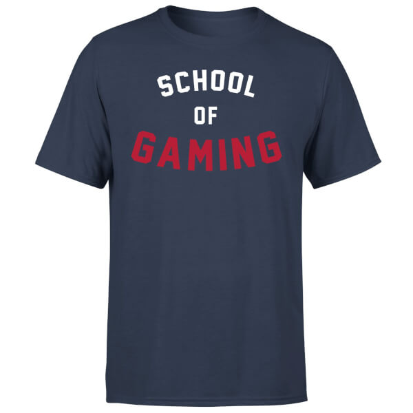 School of Gaming T-Shirt - Navy