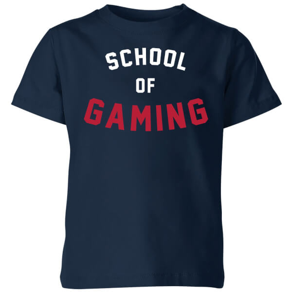 School of Gaming Kids' T-Shirt - Navy