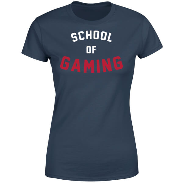 School of Gaming Women's T-Shirt - Navy