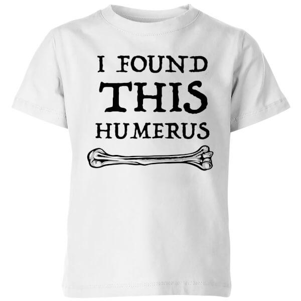 I Found this Humurus Kids' T-Shirt - White