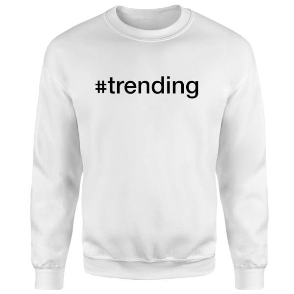 trending Sweatshirt - White