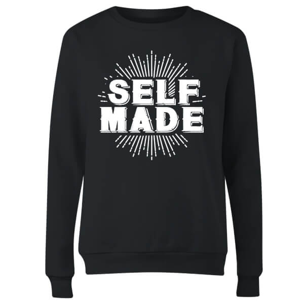 Self Made Women's Sweatshirt - Black