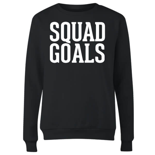 Squad Goals Women's Sweatshirt - Black