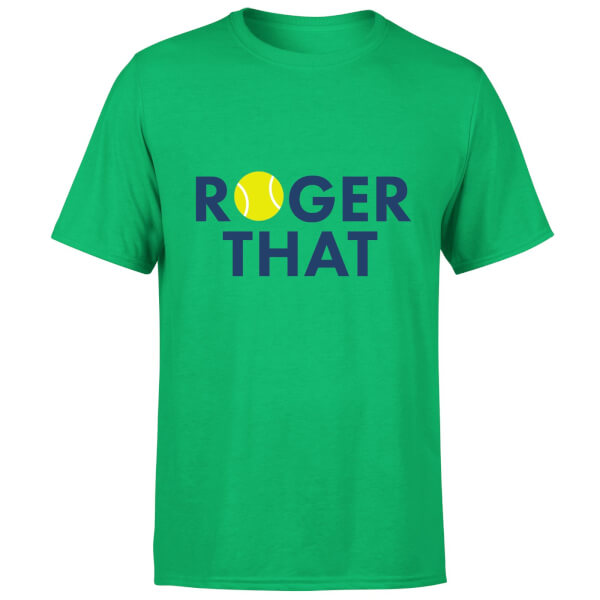 Roger That T-Shirt - Kelly Green