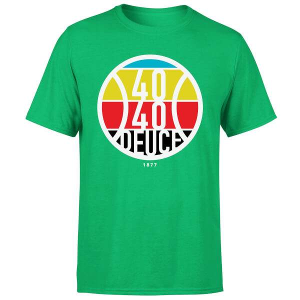 40 40 Deuce T-Shirt - Kelly Green