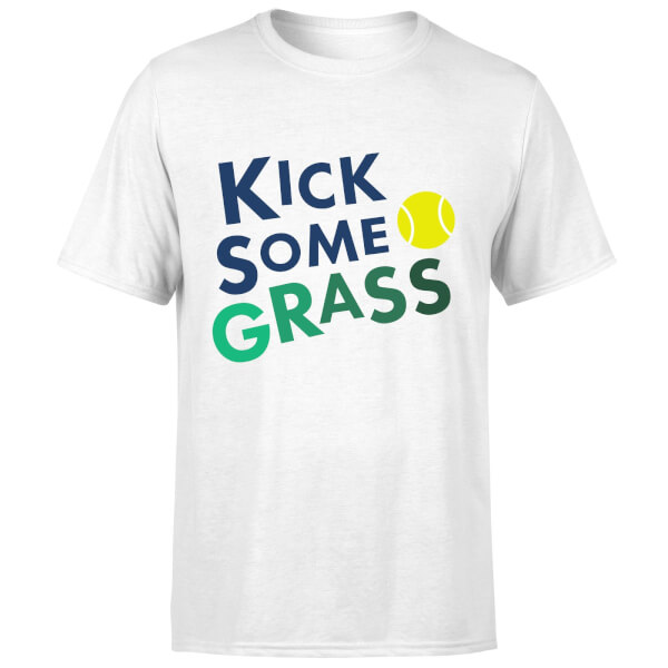 Kick Some Grass T-Shirt - White
